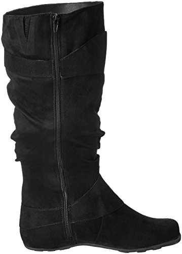 Boot Wide Co Slouch Calf Black 02wc Augusta Women's Brinley zgwX6g