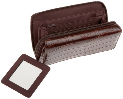 MUNDI Big Fat Wallet,Black,one size