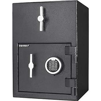 Image of Cabinet Safes BARSKA AX13308 Rotary Hopper Digital Keypad Depository Drop Safe 1.15 Cubic Ft