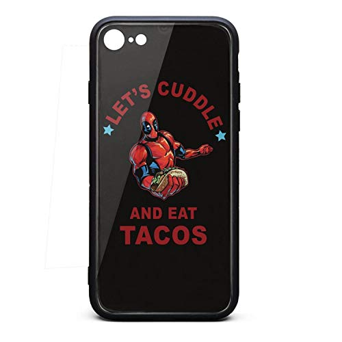 Lets-Cuddle-and-Tea-Tacos-Deadpool- Ultra Shock-Absorption Protective Cushion Basic Phone Case for iphone6s Plus