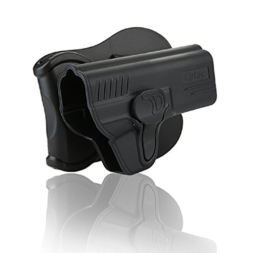 Smith Wesson M&P 9mm Full Size Holster, Adjustable Draw Angle OWB Tactical Pistol Holsters Fit S&W (Adjustable Holster)