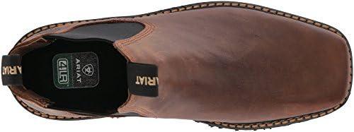 f33ffc8fc1a Ariat Men's Spot Hog Wide Square Toe Western Boot, Distressed Brown ...