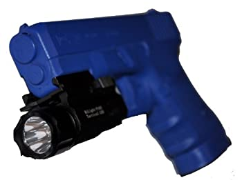 Aimkon Hilight P10s 500 Lumen Pistol Led Strobe Flashlight With Weaver Quick Release For Glock Series, Sig Sauer, Smith & Wesson, Springfield, Beretta, Ruger, & Heckler & Koch, Etc. 7