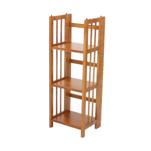 Casual Home 3-Shelf Folding Bookcase (14