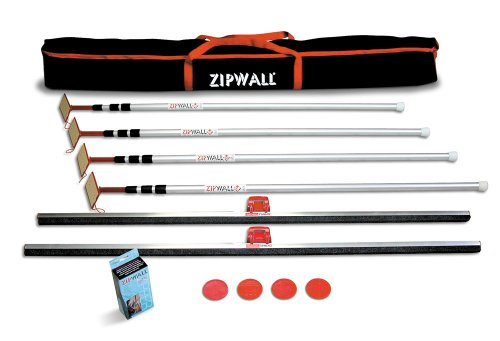 ZipWall 4PL Plus Kit with Carry Bag, 4-Pack ()