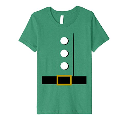 4 Girl Group Costume Ideas (Kids Santa Christmas Costume Idea T-Shirt Group Dwarf Halloween 4 Kelly Green)