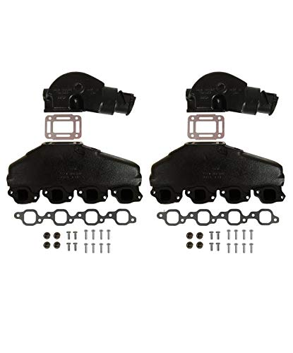 Barr Manifold Exhaust Kit for Marine Power V8 7.4L with 4
