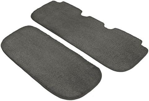 Nylon Carpet Black Coverking Custom Fit Front Floor Mats for Select Pontiac Montana SV6 Models