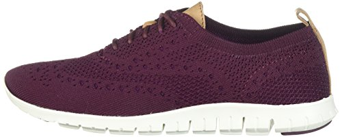 Cole Haan Women's Zerogrand Stitchlite Closed Oxford, Malbec, 10 B US by Cole Haan (Image #5)