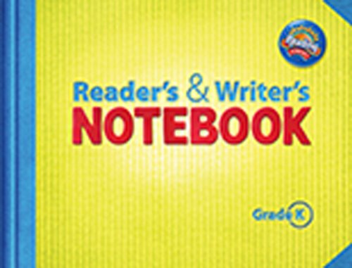 Readers & Writers Notebook, Grade K (Reading Street)