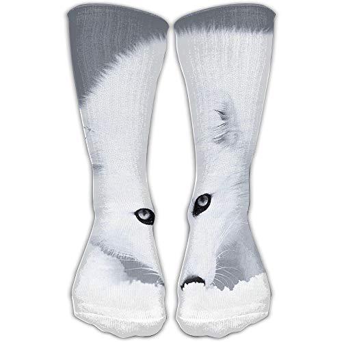 YUANSHAN Socks Snow Fox Women & Men Socks Soccer Sock Sport Tube Stockings Length 11.8Inch]()
