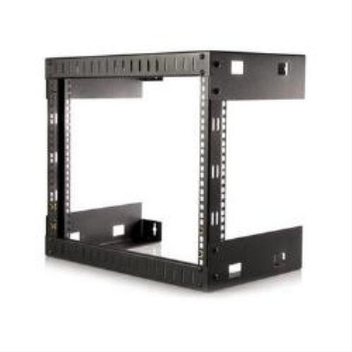 Startech.com RK812WALLO 8U Open Frame Equipment Rack