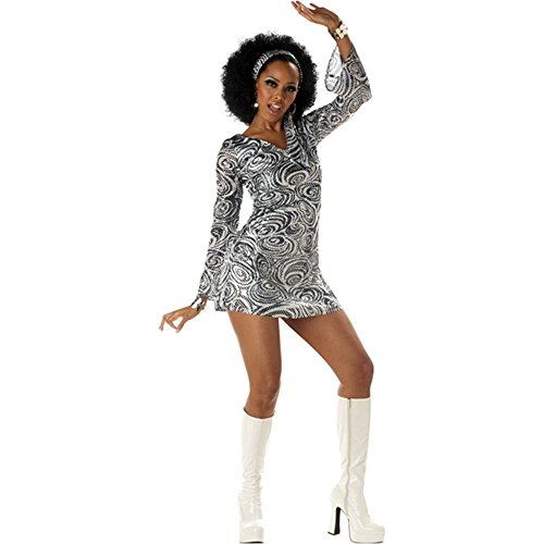 [Disco Diva Adult Costume - X-Large] (Disco Diva Outfit)