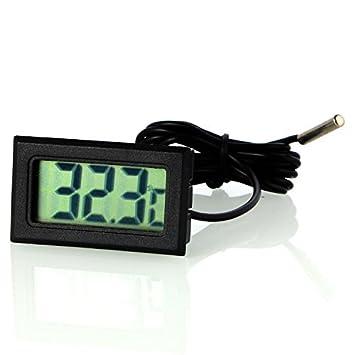 Neuftech LCD Termómetro Digital para Nevera, frigorífico + sonda: Amazon.es: Electrónica