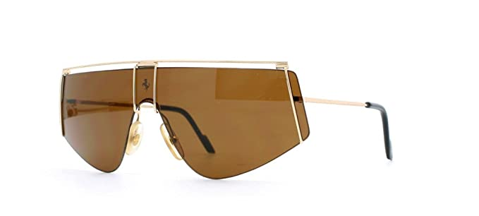 d484ca578f Amazon.com  Ferrari 15 524 Gold Authentic Men Vintage Sunglasses ...