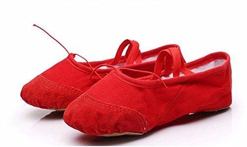 SQIAO-X- Scarpe da ballo, Pratica scarpe fondo morbido del gatto di scarpe di zampa di uomini e donne adulti di bambino Scarpe da ballo ,32, nero