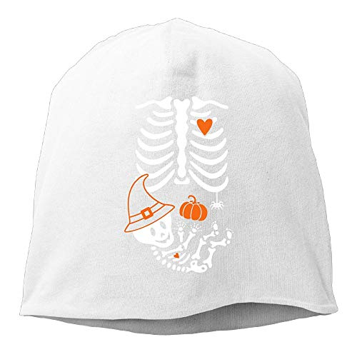 UI&PPQ54 Unisex Witch Maternity Skeleton Slouchy Baggy Wool Beanies Hat Skull Caps