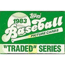1983 Topps Traded Baseball Series 132 Card Set. Features Rookie Cards of Darryl Strawberry and Julio Franco Plus Hall of Famer Tom Seaver ()
