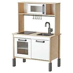 Amazon.com: Ikea Duktig Mini-kitchen, Birch Plywood, White
