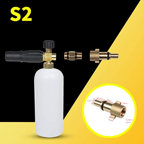 Creative Foam Lance Pressure Washer Soap Gun For Karcher Bosch Lavor Nilfisk White