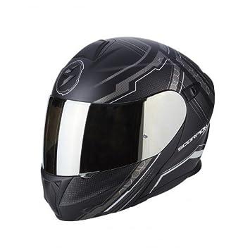 Scorpion Moto Casco Exo 920 Satellite, negro, tamaño XL