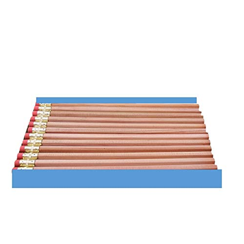 Moon Products Bare Wood Natural Premium Pencils Number 2 HB