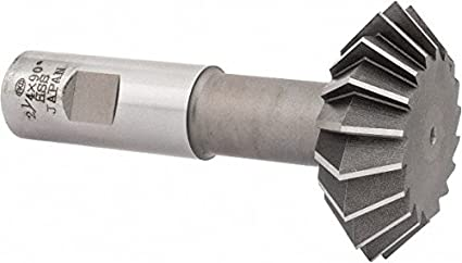 """3//4/"""" 90 Degree Included Angle High Speed Steel Double Angle Cutter"""