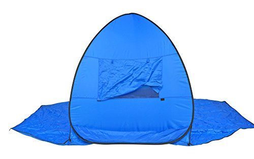 Instant Pop-up Family Beach Tent and Sun Shelter UPF 55+