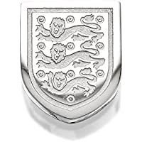 England Mens Gents Jewellery Stainless Steel Three Lions Crest Single Earring