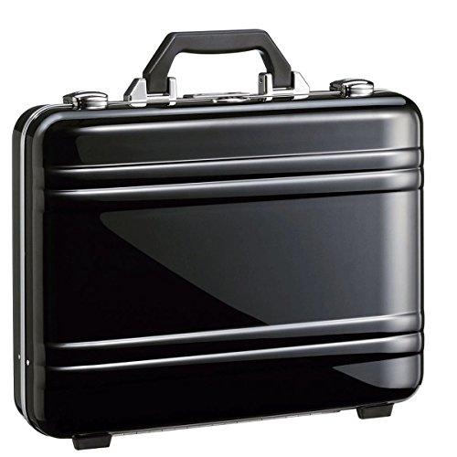 Briefcase Zero Halliburton Black (Zero Halliburton 2.0 Small Classic Framed Polycarbonate Attaché Briefcase, Black, One Size)