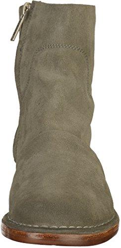 Shabbies Amsterdam Damen Shabbies Stiefelette mit Reissverschluss Grün (Olive)