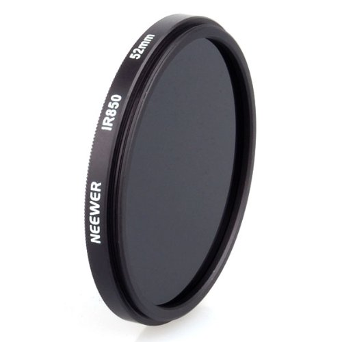 Neewer 52mm 52 mm IR 850 nm 850nm Infrared Infra-Red Filter by Neewer