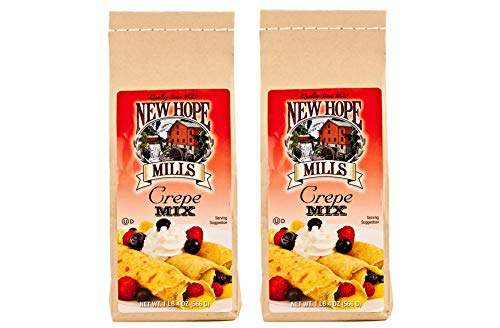 New Hope Mills Easy To Make Crepe Mix- Two 20 oz. Bags