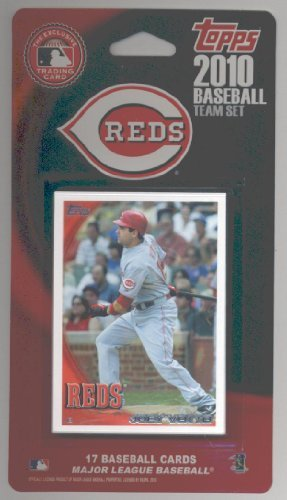 2010 Topps Cincinnati Reds 25 Card Team Set Lot including Joey Votto, Johnny Cueto, Brandon Phillips, Homer Bailey, Willy Taveras, Scott Rolen, Jay Bruce, Paul Janish & more!