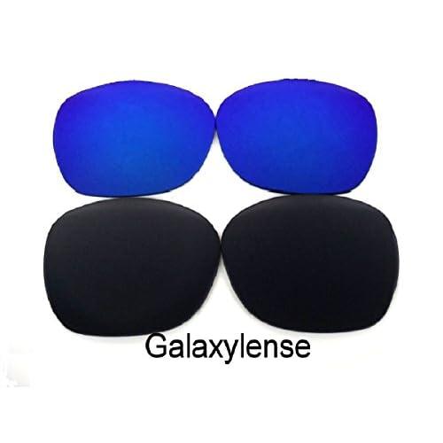 5677b3bfeb low-cost Galaxy lentes de repuesto para Oakley Garage Rock negro y azul  Color Polarizados