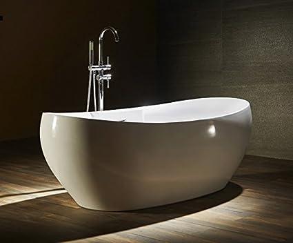 Vasca Bagno Freestanding : Vasca da bagno freestanding 175x85 mizar 5 anni di garanzia