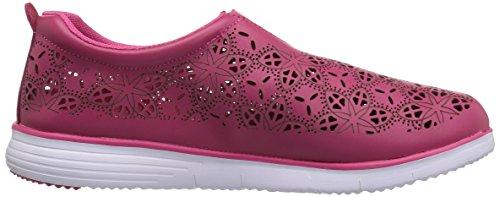 Propet Womens Hannah Sneaker Berry