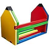 Separador de Livros Lápis Carlu Brinquedos