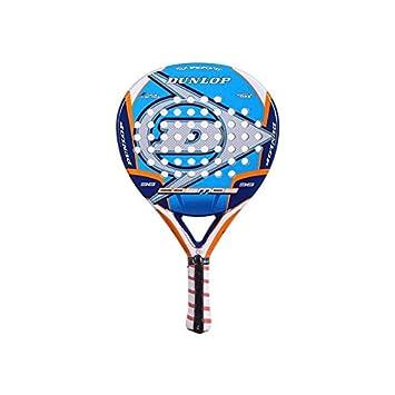 Dunlop Cosmo - Pala de pádel, color azul/blanco/naranja, 38 mm: Amazon.es: Deportes y aire libre