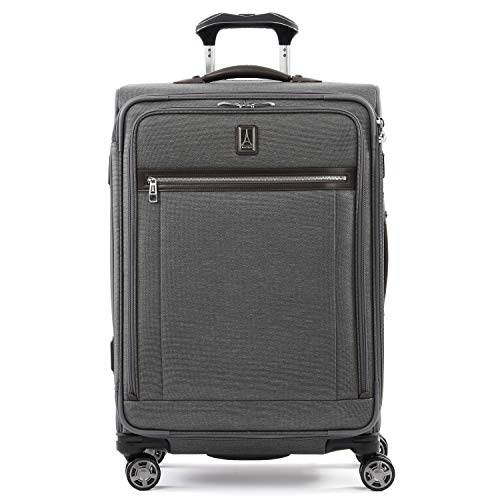 Travelpro Luggage Checked Medium, Vintage Grey (Best Large Suitcase For International Travel)