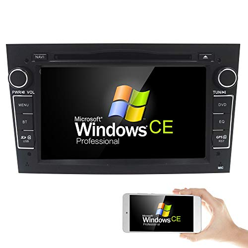 Black 7 inch Car Audio Stereo Double Din In Dash for Opel Vauxhall Corsa...