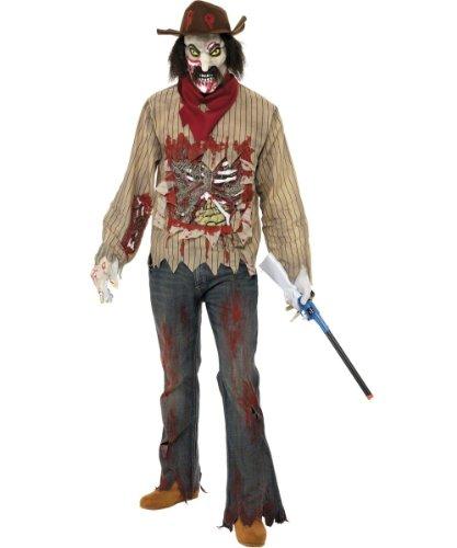Smiffys Men's Zombie Cowboy Costume - Cowboy Zombie Costumes