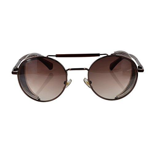 Ucspai Steampunk Sunglasses Copper Frame