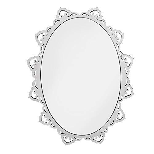 Quadro Espelho Decorativo Veneziano Sala Quarto 3876