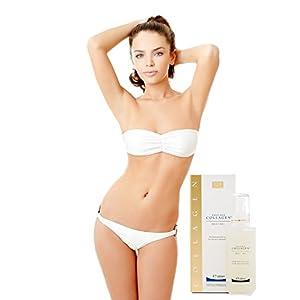 SALCOLL COLLAGEN Body Gel - Anti-Aging Marine Collagen Gel to Help Reduce Stretch Marks & Cellulite - Collagen Gel to Aid Varicose Veins Treatment - Helps Reduce Fat Tissue, Tones Skin Tissue - 200 ml