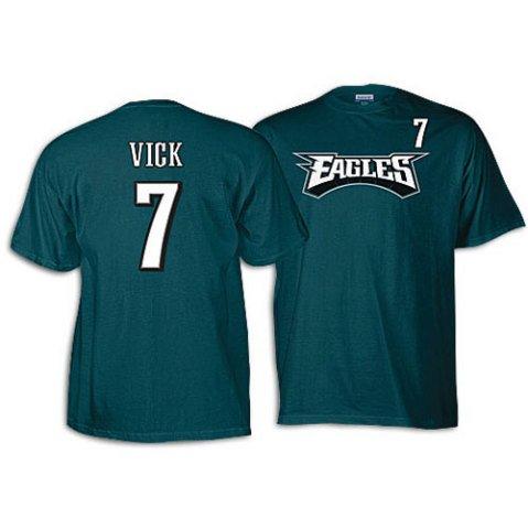 Reebok Philadelphia Eagles Michael Vick Youth (8-20) Name & Number T-Shirt (Reebok Philadelphia Eagles Shirt)