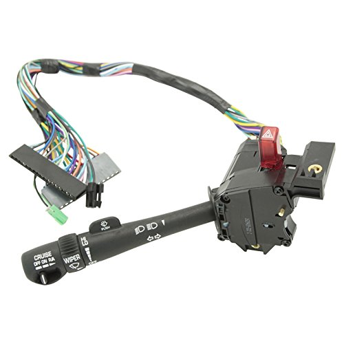 - Turn Signal Cruise Control Windshield Wiper Arm Lever Switch for Chevy GMC Truck