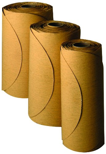 3M 01360 Stikit Gold 6'' P150 Grit Film Disc Roll