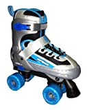 Mongoose Quad Deluxe Roller Skates, Small