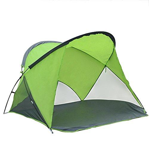 Tente De Plage Extérieure, Tente De Pêche 2 Personnes Tente De Camping Soleil Protection Voyage
